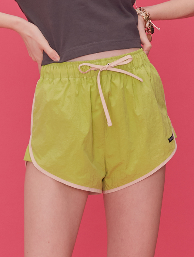 Comfy Dolphin Shorts [LIME ]