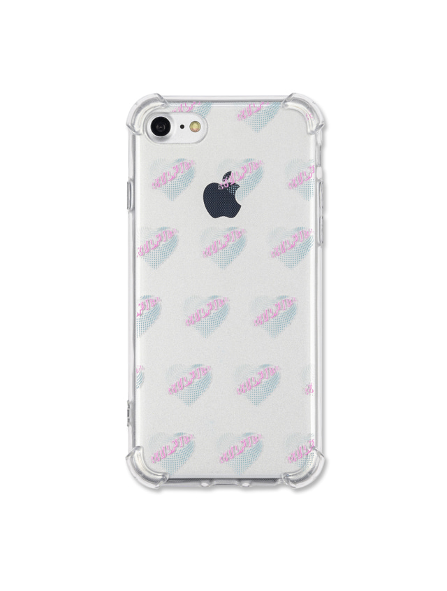 NEON HEART JELLY CASE [MINT]