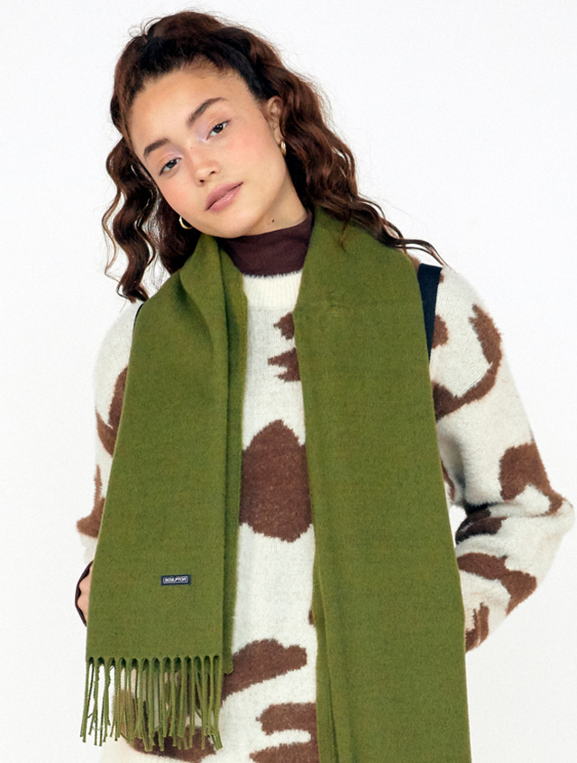 19AW Soft Solid Muffler [AVOCADO]