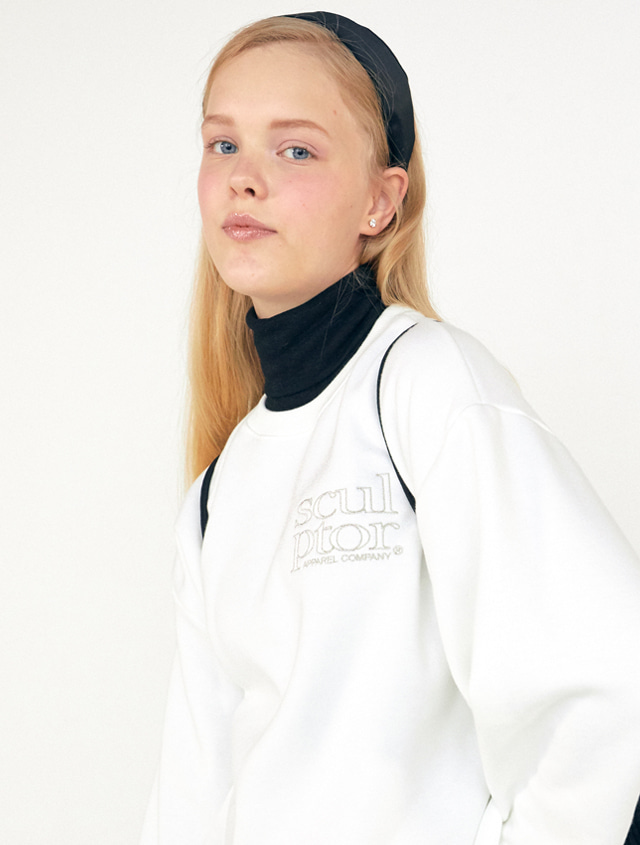 S/Soft Sweatshirt [WHITE]