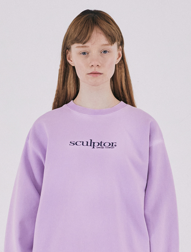 [2/21(금) 예약배송]Snow Wash Sweatshirt [LILAC]