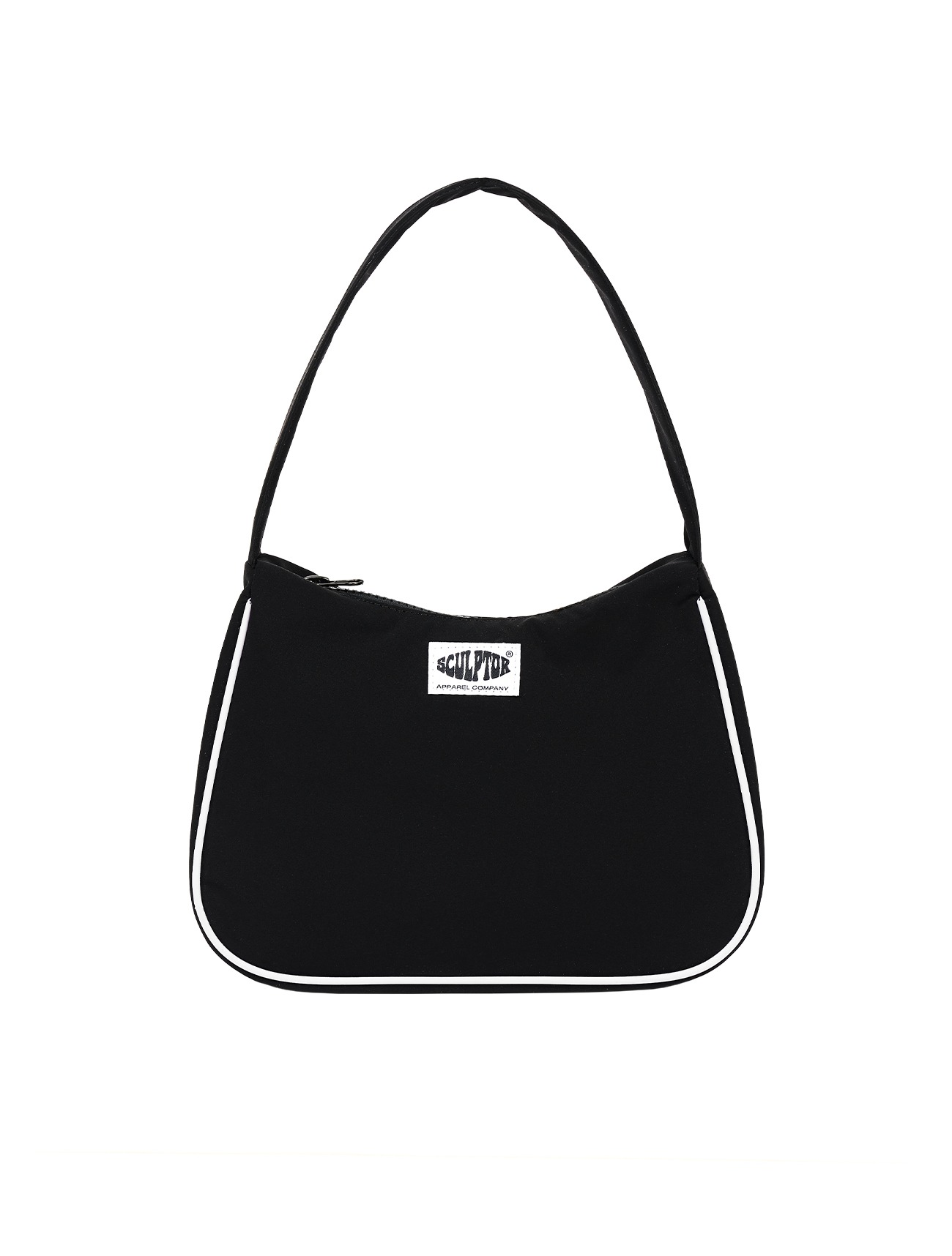 Satin Tote Bag Black
