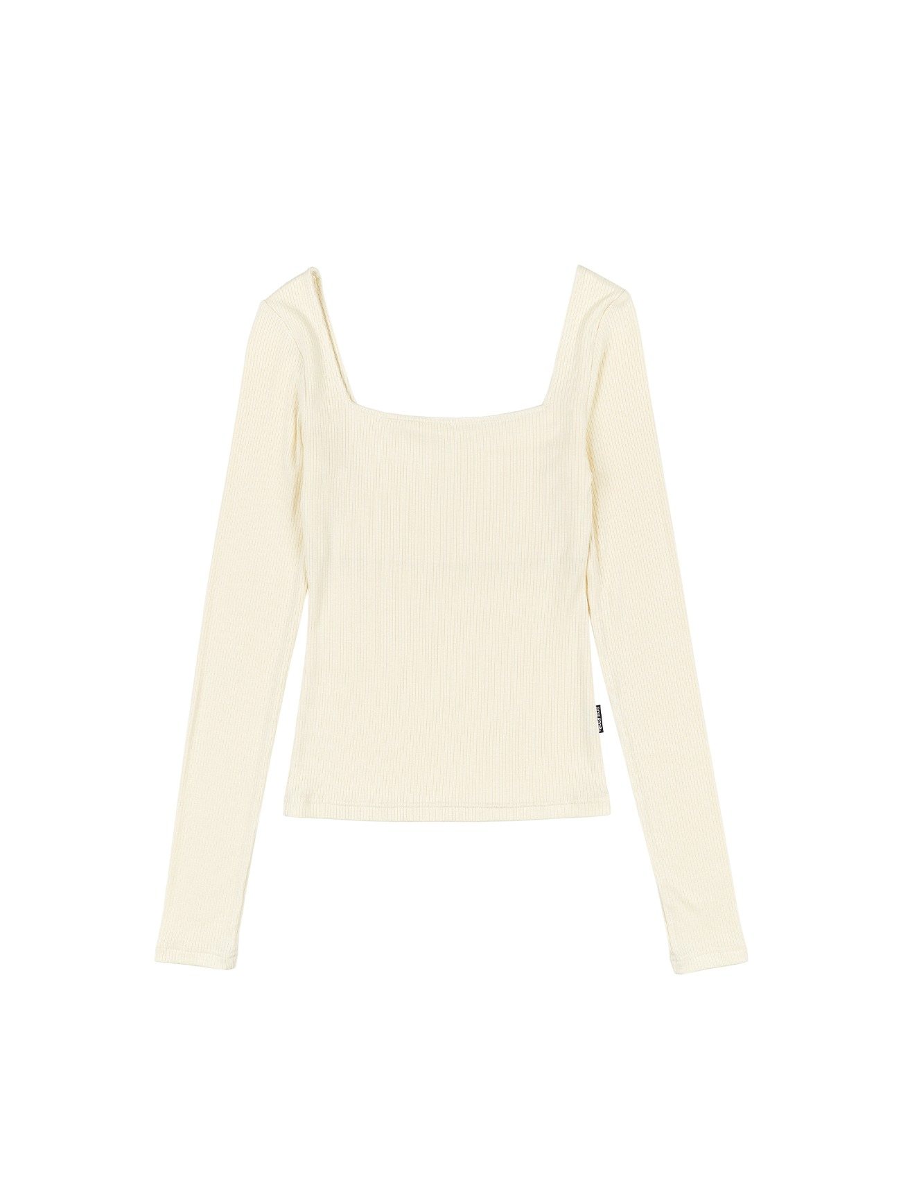 Soft Modal Square Top Ivory