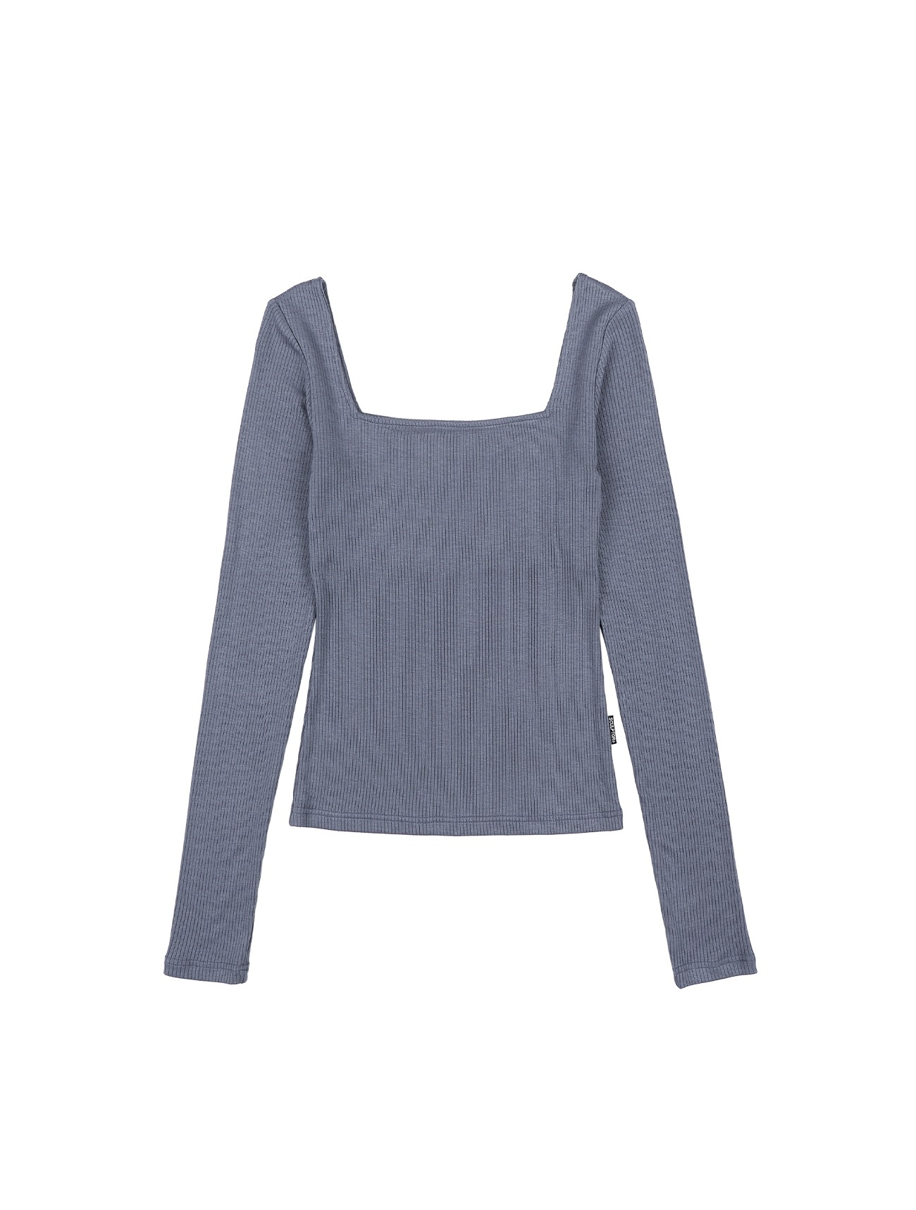 Soft Modal Square Top Dusty Blue