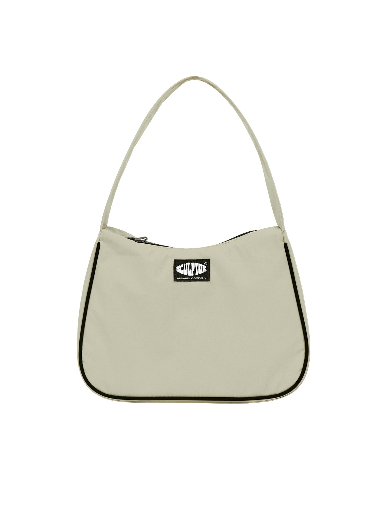 Satin Tote Bag Beige